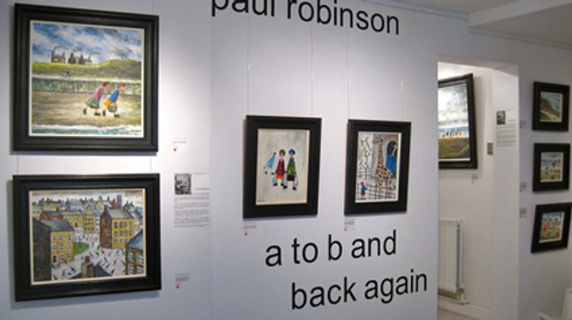 Paul Robinson, A to B and Back Again: Image 0