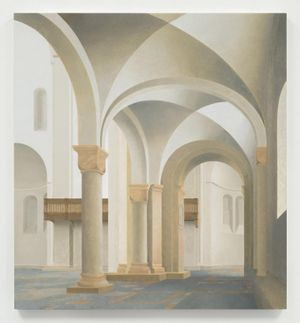 Paul Winstanley. Faith After Saenredam and Other Paintings