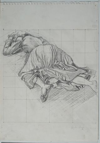 Life Study for The Return of the Native [2] (1992), copyright Paula Rego, courtesy Marlborough Fine Art