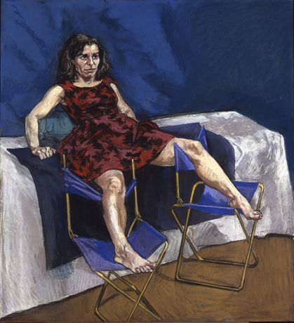 Paula Rego Untitled No. 5, 1998 Pastel on paper 110 x 100 cm © Paula Rego Courtesy Marlborough Fine Art