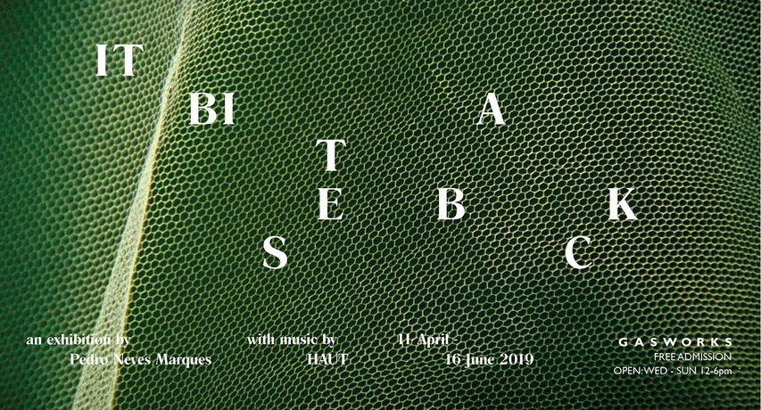 Pedro Neves Marques, It Bites Back, 2019. Exhibition poster for Gasworks. Courtesy of the artist.