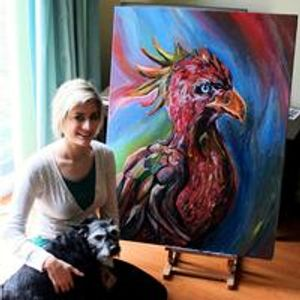 Peony Paints - the paintings of Sammi Peoney Dovey