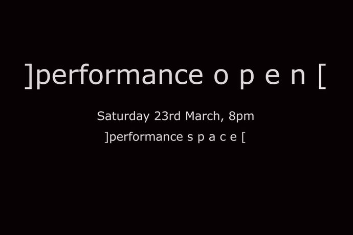 ]performance o p e n[: Image 0