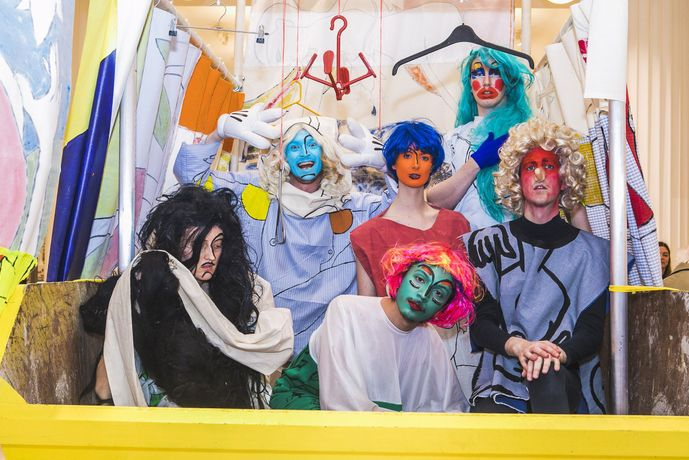 Image: Paul Kindersley, Ship of Fools. Photo: Ali Tollervey, courtesy the artist and Skip Gallery