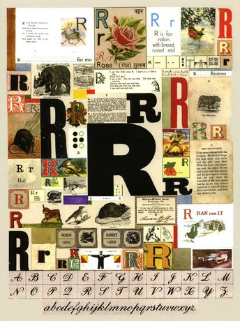 Peter Blake 'The Letter R' 2007 Silkscreen