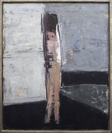Grey Interior with Figure, 1962