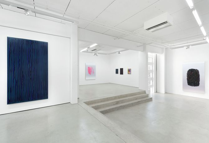 Installation view of the exhibition STRUKTUR by Peter Krauskopf, G2 Kunsthalle Leipzig, 13. Oktober 2017 – 21. Januar 2018, photo: Uwe Walter, copyright the artist & G2 Kunsthalle Leipzig