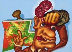 Peter Saul. Some Terrible Problems