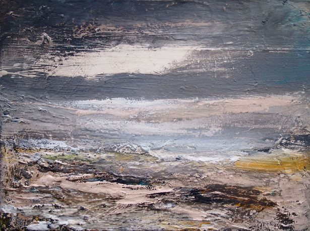 Peter Kettle 'Aberthaw' Mixed media