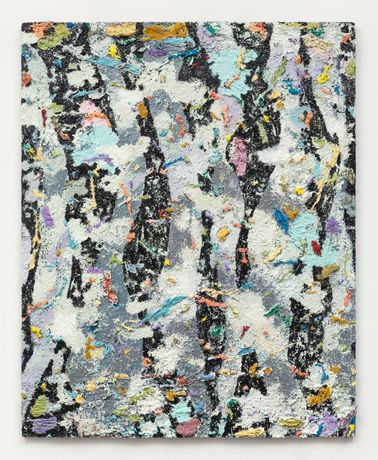 Phillip Allen, Deepdrippings (Ghetto Anglaise Version), 2016, oil on board, 152 x 122 cm / 59.8 x 48 in