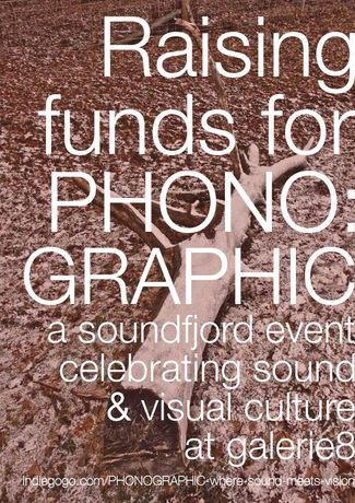 PHONO:GRAPHIC - A Music Event Where Sound Meets Vision (Online Fundraiser): Image 0