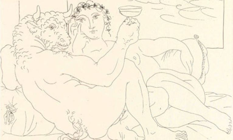 Picasso And The Minotaur: Drawing The Vollard Suite: Image 3