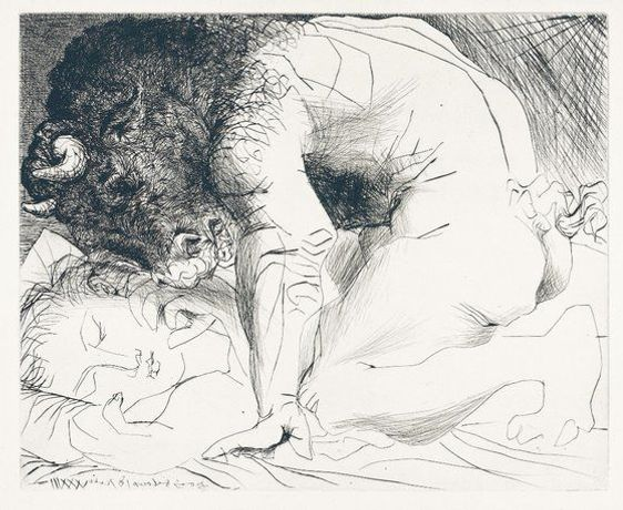 Picasso And The Minotaur: Drawing The Vollard Suite: Image 0