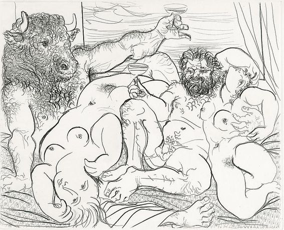 Picasso And The Minotaur: Drawing The Vollard Suite: Image 2