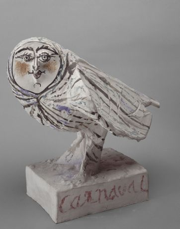 Woman-faced Owl (Carnival Couple), 1951 - 27 FEB 1953 Musée national Picasso-Paris
