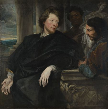 Anthony van Dyck, Portrait of George Gage with Two Attendants, probably 1622–3. The National Gallery, London