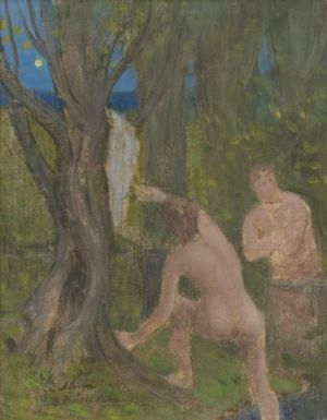 Pierre Puvis de Chavannes. Paintings and Works on Paper