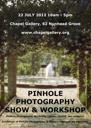 Pinhole Photography Workshop and Show