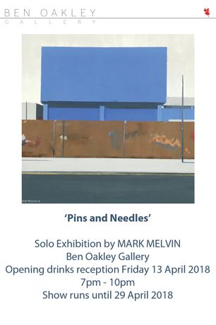 Flyer for the PV  #bog #pinsandneedles