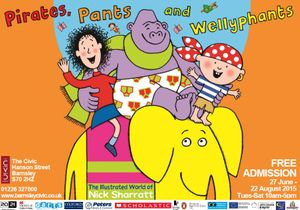 Pirates, Pants & Wellyphants: The Illustrated World of Nick Sharratt