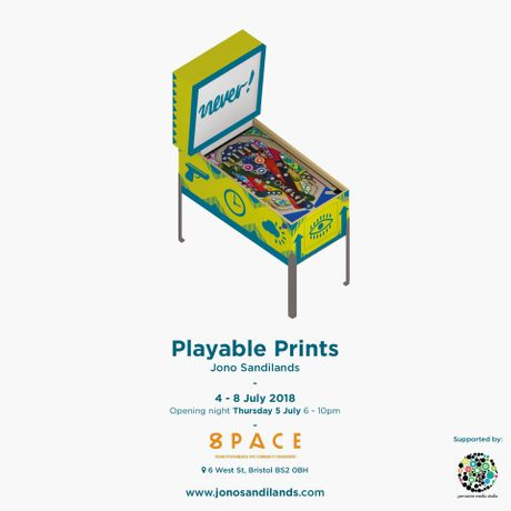 Playable Prints: Interactive Art Show