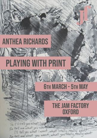 Anthea Richards - Playing with Print Poster