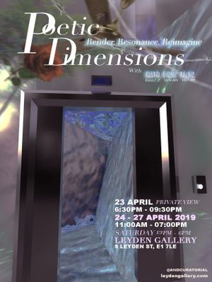 Poetic Dimensions: Render, Resonance and Reimagine