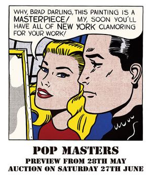 Pop Masters Auction at A&D Gallery