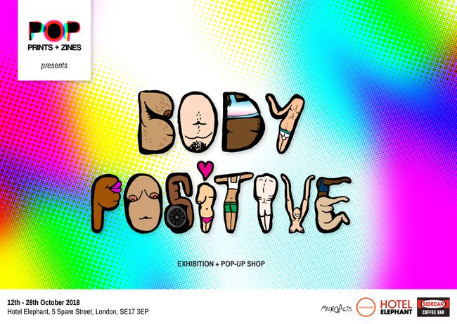 POP Prints + Zines presents 'Body Positive': Image 0