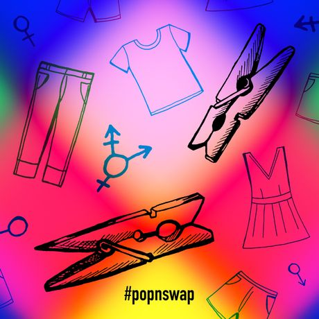 #popnswap •  interactive installation in collaboration with G(end)er Swap