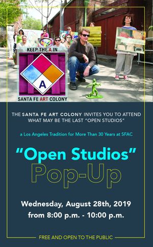 'Pop Up Open Studios'