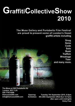Portobello Film Festival Presents Graffiti Collective Show 2010 - Tuesday 7th September 2010