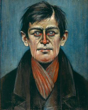 Head of a Man LS Lowry 1938, copyright The Lowry Collection Salford