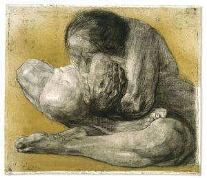 Käthe Kollwitz, Woman with Dead Child, 1903, © The Trustees of the British Museum