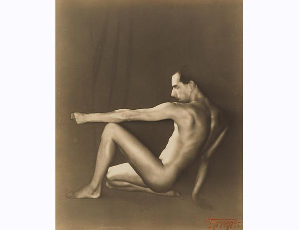 Ted Shawn / Edwin F. Townsend / c. 1925, Solarized gelatin silver print / National Portrait Gallery, Smithsonian Institution
