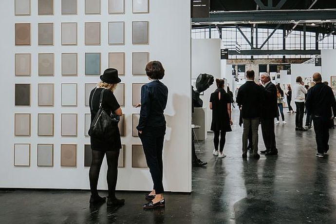 POSITIONS Berlin Art Fair 2017 Arena Berlin, Photo: Oana Popa ©Positions Berlin