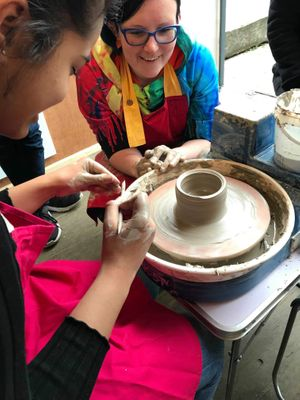 Pottery Throwing Taster