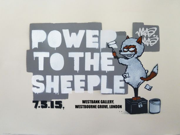 Power To The Sheeple by Mau Mau: Image 0
