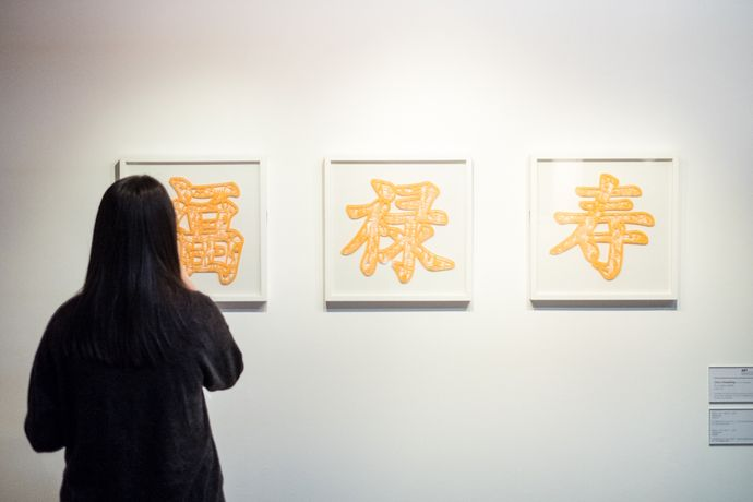 Chen Hanfeng, Fu, 2013. Installation view. Courtesy the artist, Photography by Pete Carr