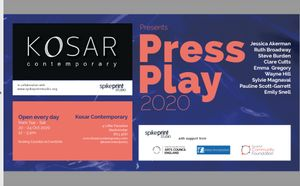 Press Play 2020, by Spike Print Studio at Kosar Contemporary