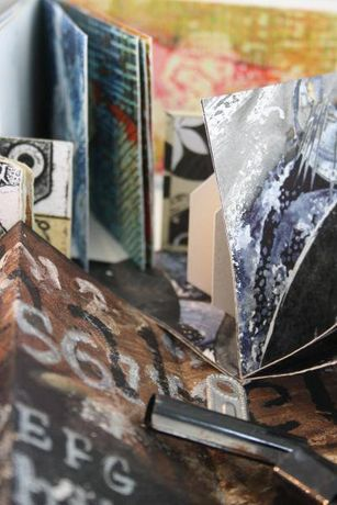Print and make your own artist book with Sue Brown