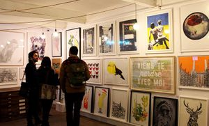 Print Club Christmas Market & Absorb Arts Open Studio