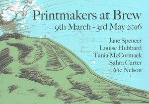 Printmakers at Brew