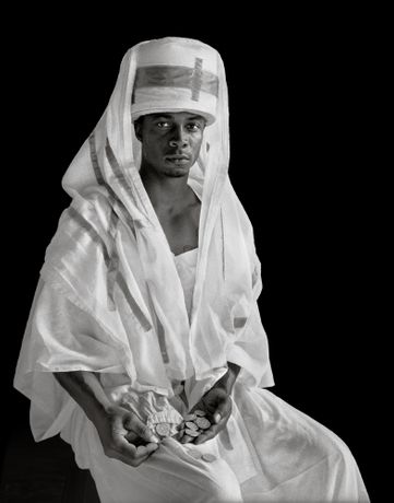 "Deborah Luster, Layla ""Roach"" Roberts (Inquisitor), from the series Passion Play, 2012–13 Courtesy the artist and Jack Shainman Gallery, New York"