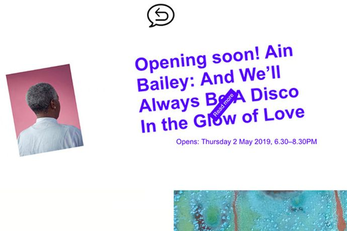 Private View: Ain Bailey: And We Will Always Be a Disco in the Glow of Love: Image 0