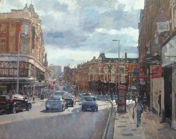 Clapham Junction from Lavender Hill, Benjamin Hope, courtesy JP Art Gallery