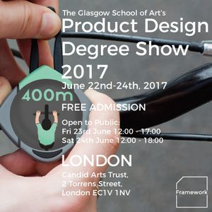 Degree Show Invitation