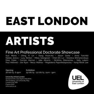 Professional Doctorate in Fine Art Showcase at the University of East London