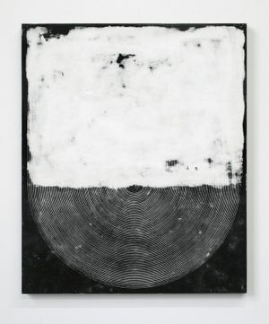 Davide Balliano 'Untitled', 2014 Plaster, gesso and lacquer on wood board 20 x 24 in. / 50.8 x 60.9 cm
