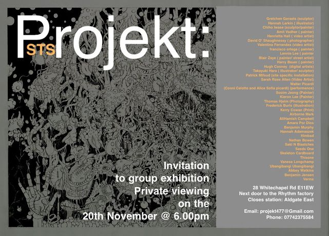 Projekt: Art Exhibition Opens 20th Of November 2014: Image 0